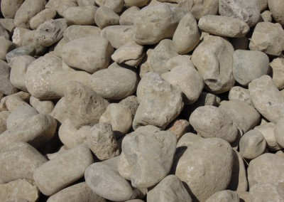 3 to 6 Inch River Rock