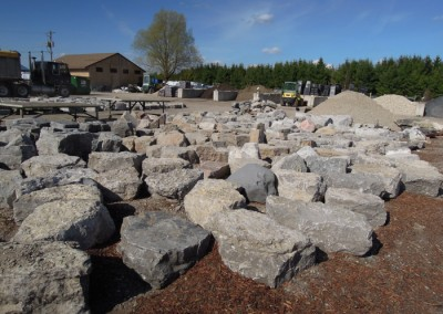 Armourstone Orillia and Escarpment various sizes sorted