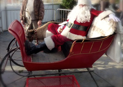 Family Event Santa & Sleigh